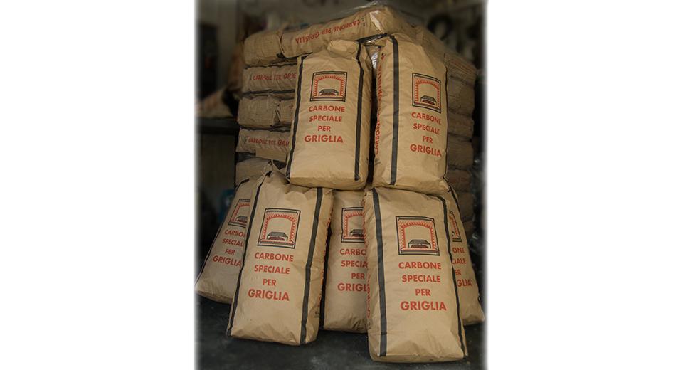 Sacchi Carbone per Griglia Cubano 10 Kg