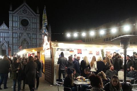 Mercatini Natale Santa Croce Firenze 2015