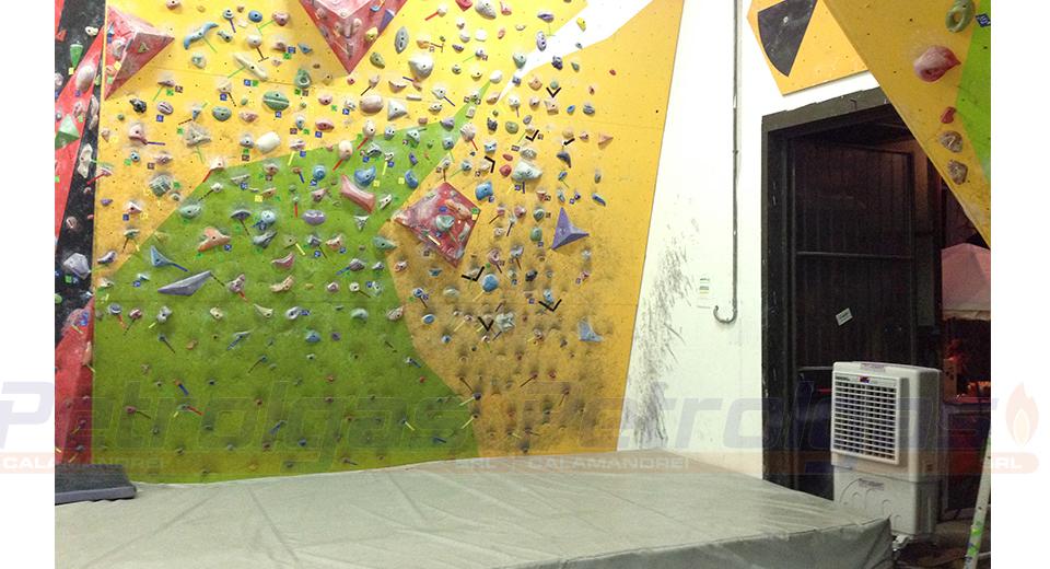 Raffrescatore BC60 Petrolgas Palestra di arrampicata
