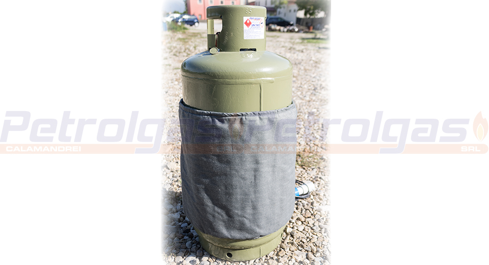 Termocoperta bombole gas gpl petrolgas