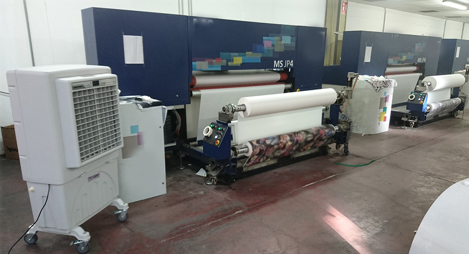Raffrescatore BC60 Petrolgas fabbrica