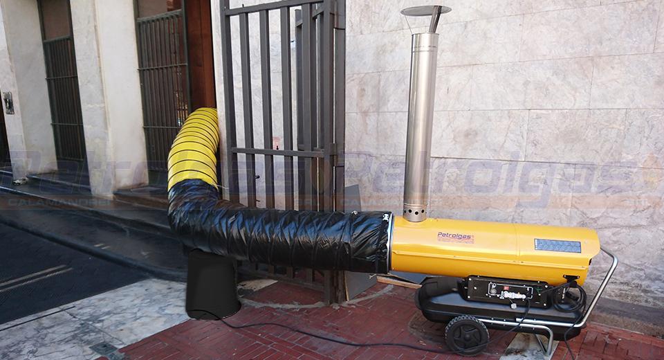 Generatore aria calda indiretta a gasolio Petrolgas 6