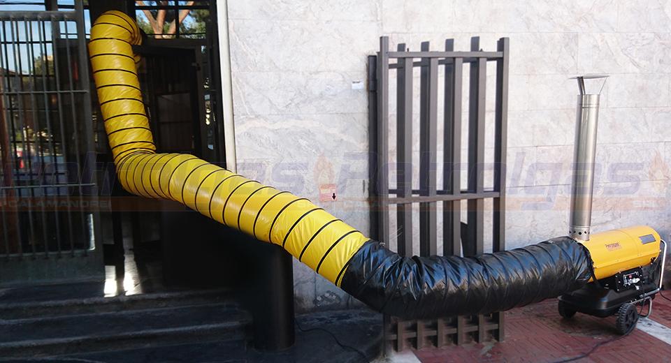 Generatore aria calda indiretta a gasolio Petrolgas 5