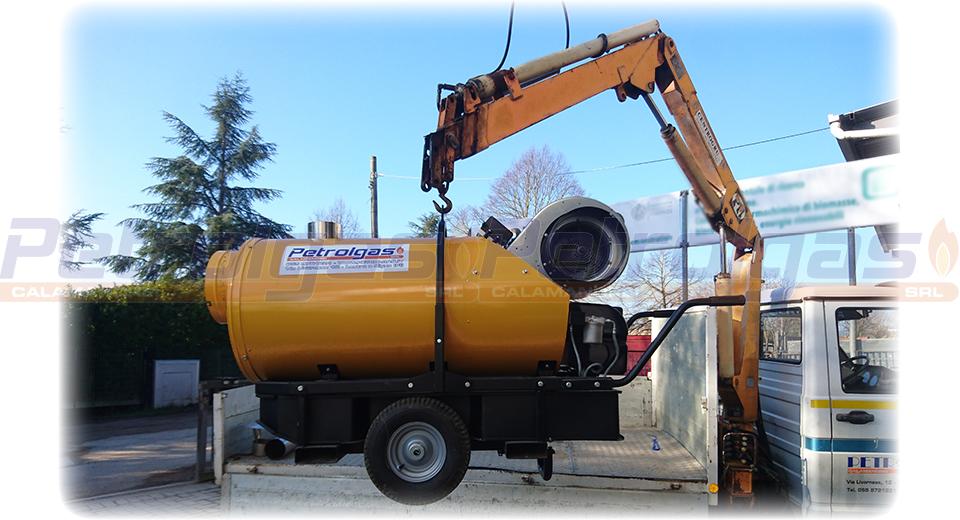 Generatore aria calda indiretta a gasolio_Petrolgas 150kw