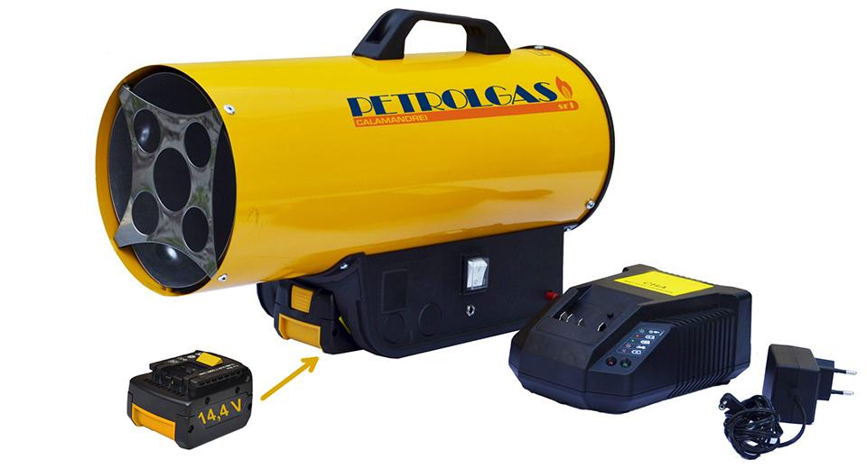 Generatori a cannone a gpl batteria