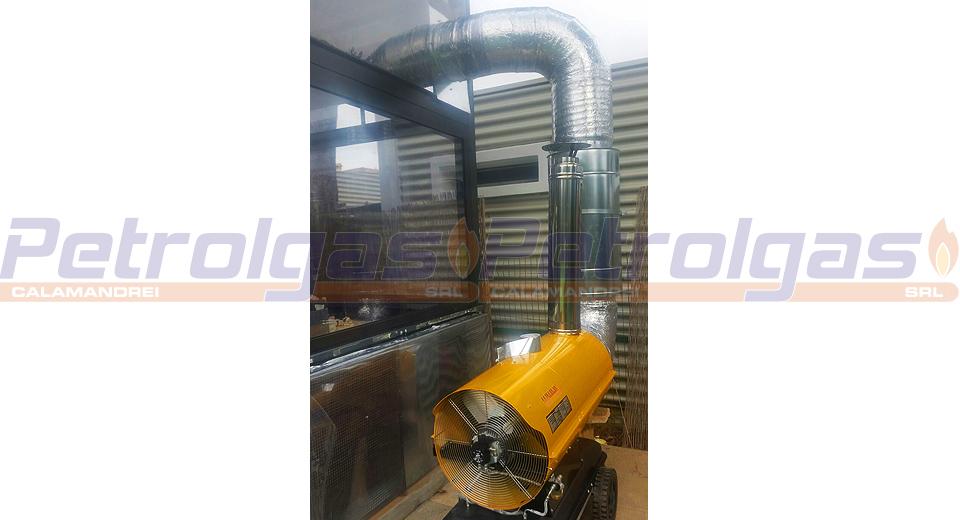 Generatore aria calda indiretta a gasolio_Firenze