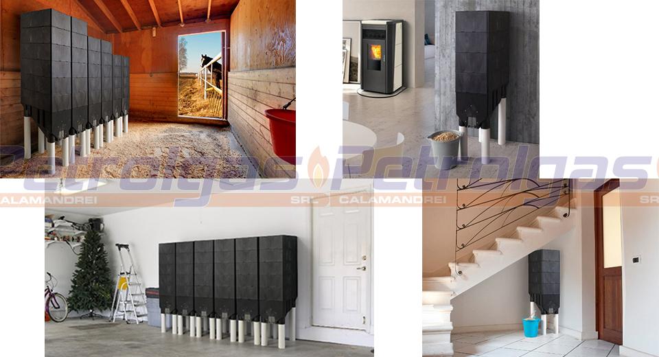 Contenitore Modulare Pellet casa