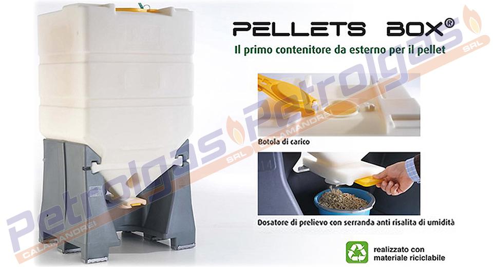 Contenitore Pellet da esterno 2