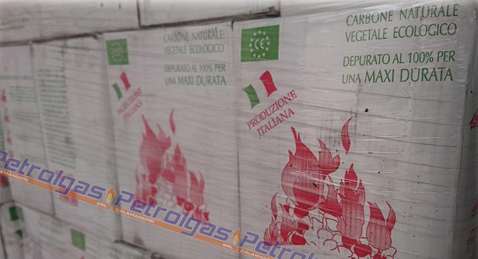 Carbone Italiano di Leccio da 10 kg