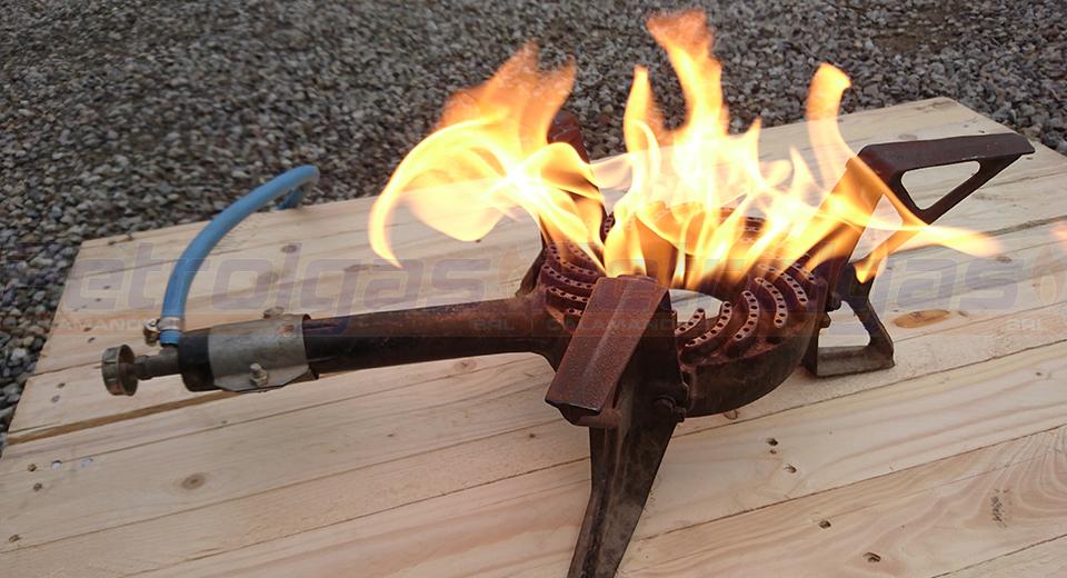 Fornellone a gas per cucinare Petrolgas