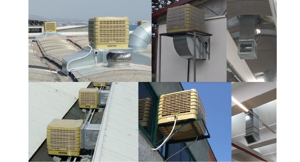 Raffrescatore evaporativo Fisso BCF 230AB