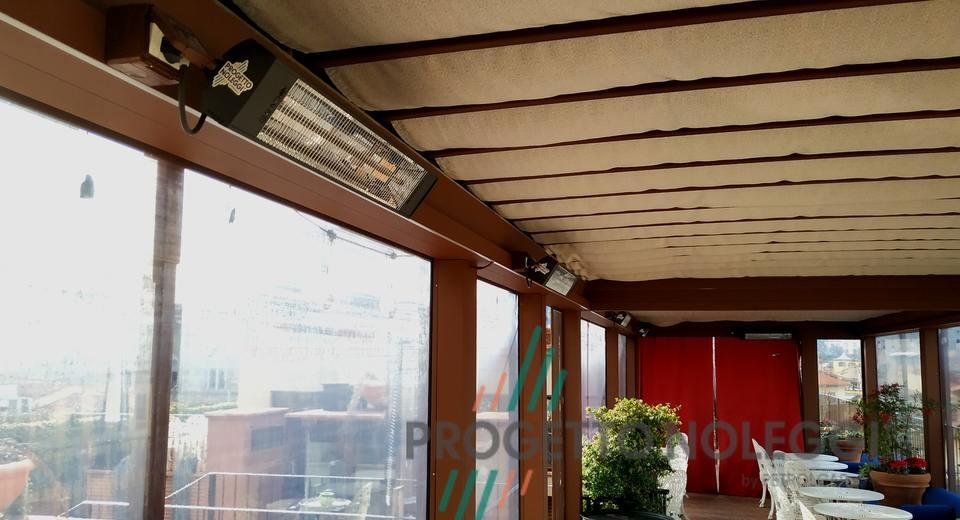Riscaldatore ad Infrarossi SOL 1800XL by Progetto Noleggi