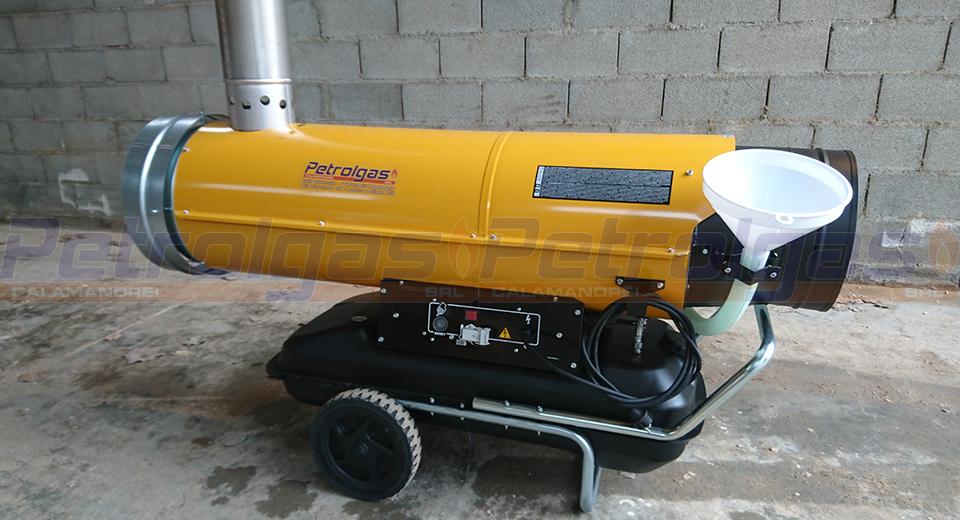Generatore d'aria calda a Gasolio Indiretto - Master BV 170