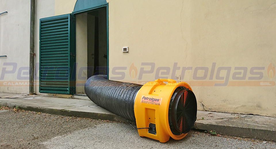 Soffiatore Circolatore Estrattore d' aria BL 4800 5800 8800